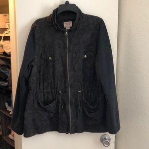 Mossimo Zip-up Adjustable Jacket